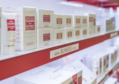 Rayon produits guinot Paris
